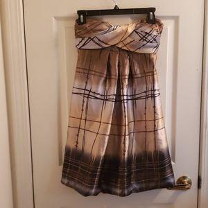 Jump Apparel Satan Dress Brown Size 1/2